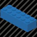 piece, toy brick, building block icon