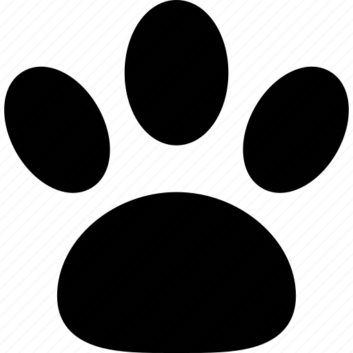 animal, footprint, paw, pet, print, track icon