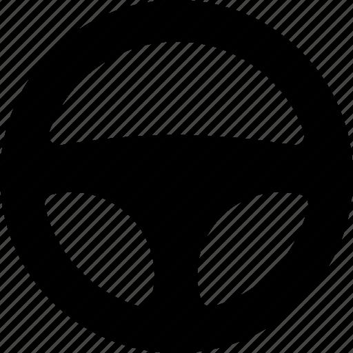 car, direction, steer, steering, turn, vehicle, wheel icon