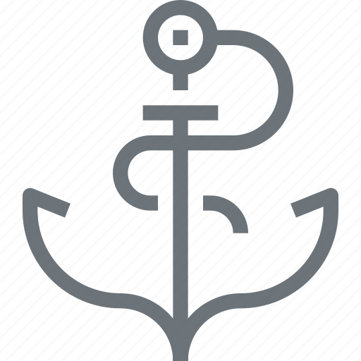 Anchor, connection, link, marine, nautical, seo, text icon - Download on Iconfinder