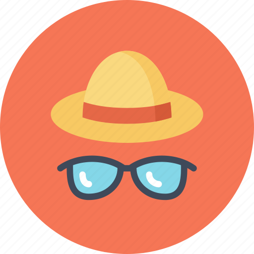Beach, fashion, glasses, hat, summer, sun, sunglasses icon - Download on Iconfinder