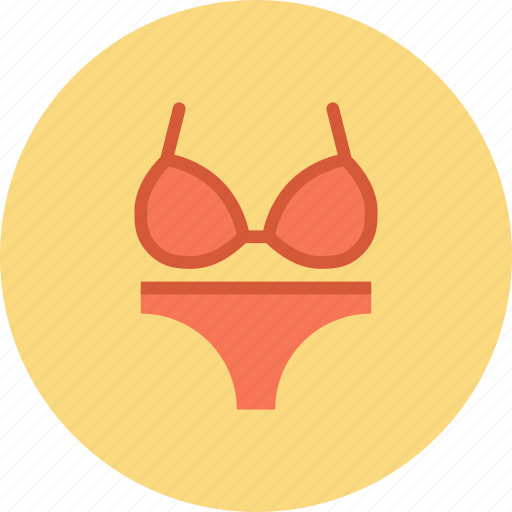 Beach, clothes, summer, swim, swimsuit, wear, woman icon - Download on Iconfinder