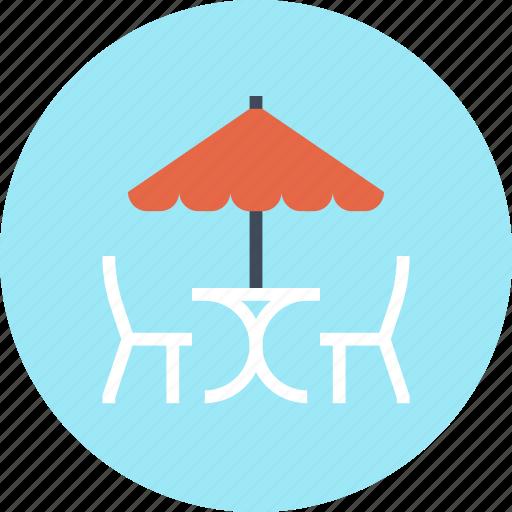 Bar, cafe, chair, leisure, restaurant, summer, umbrella icon - Download on Iconfinder