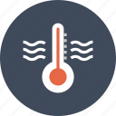 cold, diagnostic, equipment, hot, temperature, thermometer, weather icon