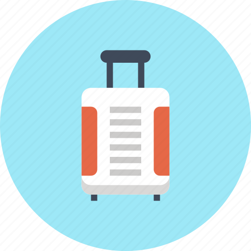 Bag, baggage, luggage, suitcase, tourist, travel, vacation icon - Download on Iconfinder