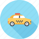 car, drive, taxi, transport, transportation, travel, vehicle icon