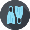diving, flippers, sea, swim, swimming, tourism, water icon