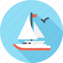 sailing, sailboat, travel, yacht, sea, ship, boat