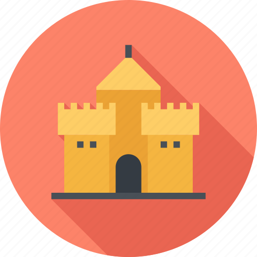 Architecture, building, castle, fortress, history, protection, tower icon - Download on Iconfinder