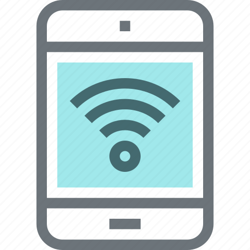 communication, device, hotspot, internet, network, tablet, wifi icon