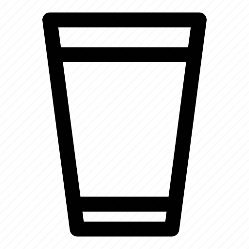 bottle, drink, glass, sip, water icon