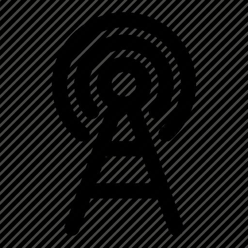 antenna, cdma, gsm, signal, tower icon