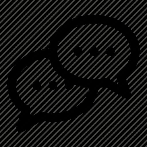 chat, forum, message, speak, talk icon