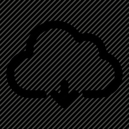 data, download, file, server, storage icon
