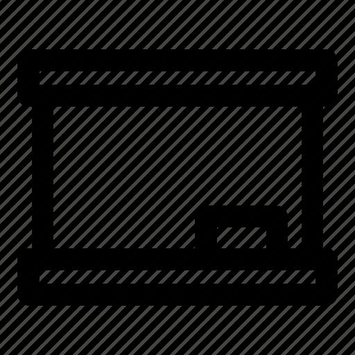 blackboard, board, instrument, learn, write icon