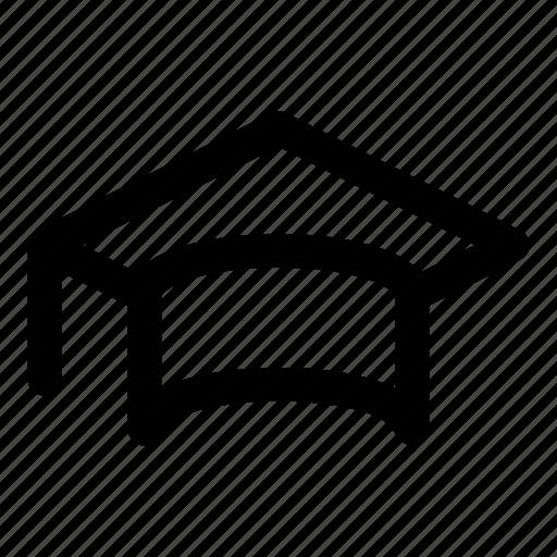 achievement, board, hat, learn, mortar icon