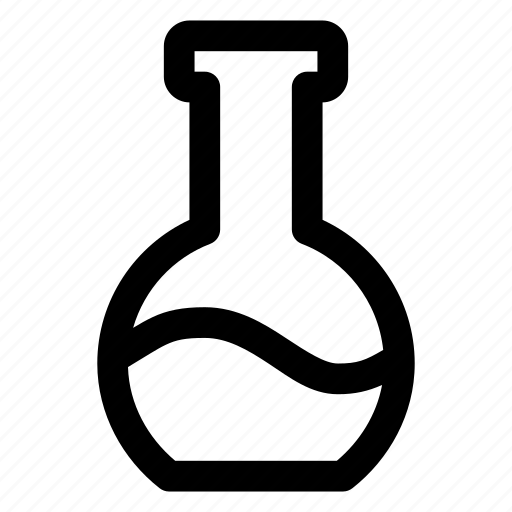equipment, erlenmeyer, flask, laboratory, tube icon