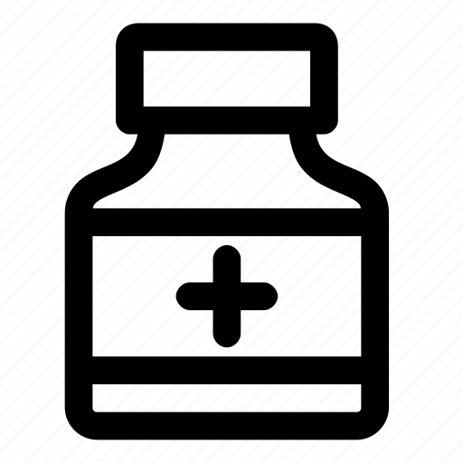 bottle, medicine, pill, prescription, treatment icon
