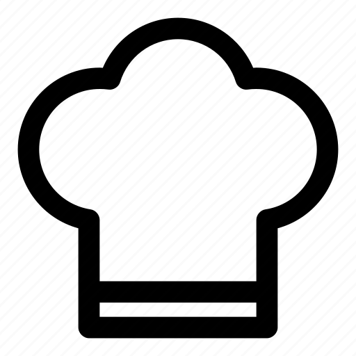chef, cook, dish, eat, hat icon