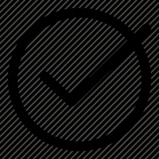accept, agree, checkmark, granted, okay icon