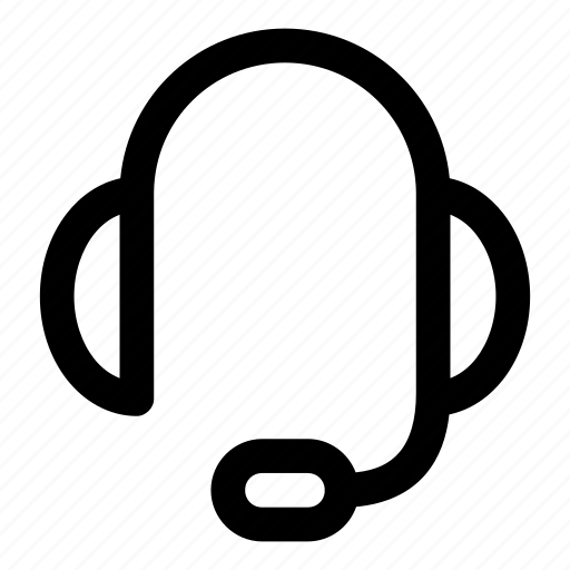 communication, conversation, headphone, support icon
