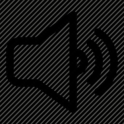 notification, sound, speaker, surround, volume icon