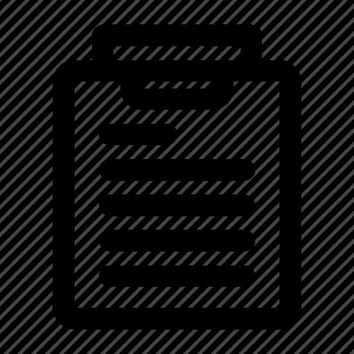 archive, clipboard, file, folder, paste icon