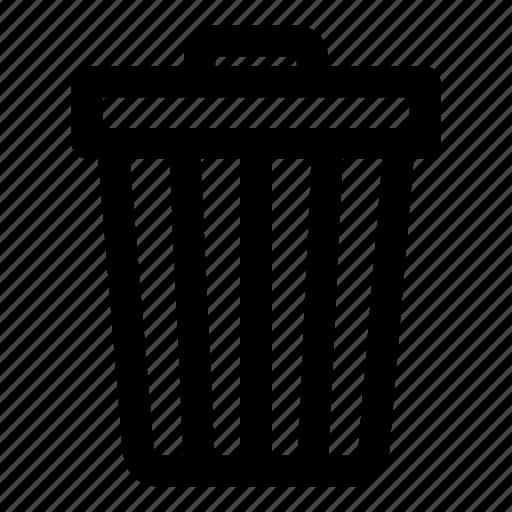 bin, cancel, garbage, recycle, trash icon
