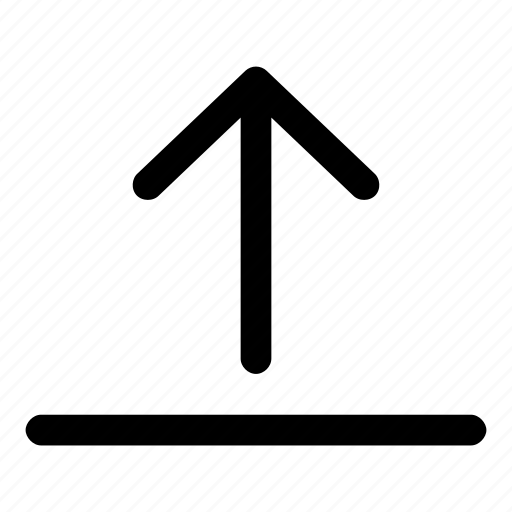 arrow, backup, data, storage, upload icon