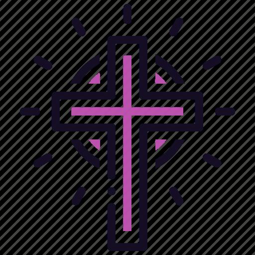 christ, christian, cross, easter, jesus, lent, prayer icon