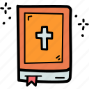 bible, book, christian, holy, pray, prayer, religion icon