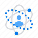circles, network, social icon