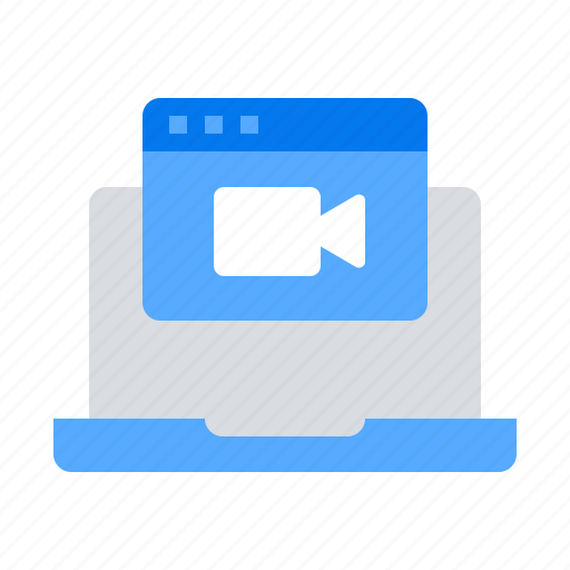 chat, meeting, video icon
