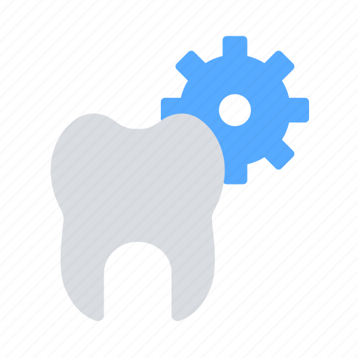 gear, repair, tooth icon