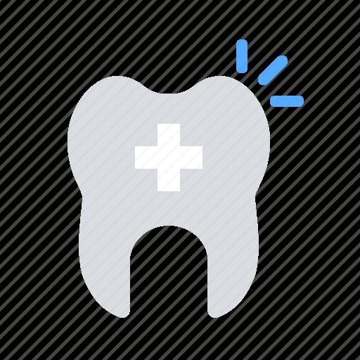 alert, dental care, dentist, stomatology, tooth icon