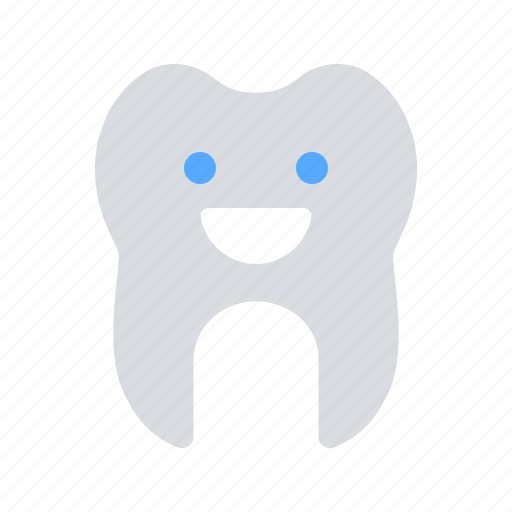 Happy, healthy, tooth icon - Download on Iconfinder