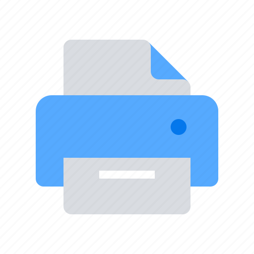 document, page, print, printer icon