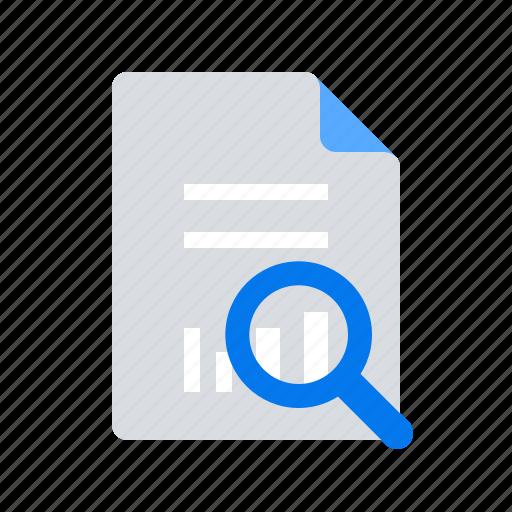 Analytics, document, report icon - Download on Iconfinder