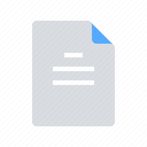 article, blog, text icon