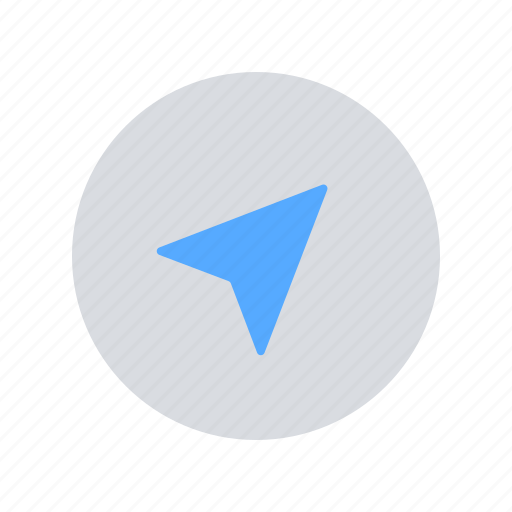 Arrow, compass, navigation icon - Download on Iconfinder