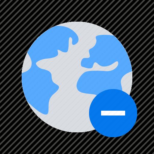 Delete, location, minus icon - Download on Iconfinder