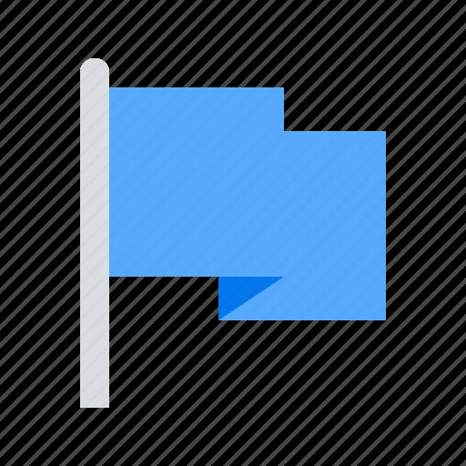 finish, flag, pointer icon
