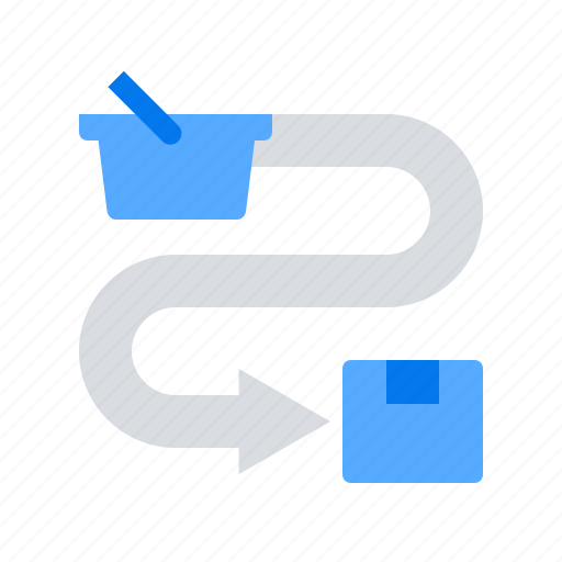 cart, checkout, delivery icon