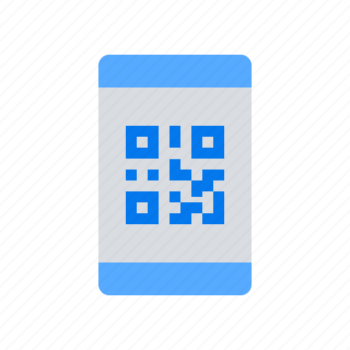 code, qr, scan icon