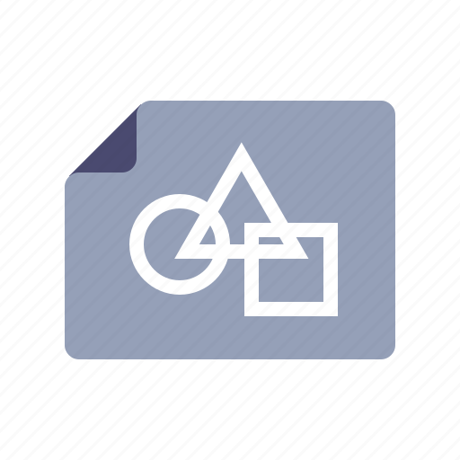 document, figures, file, project icon