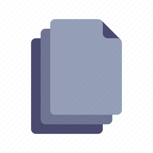 copy, docs, duplicate, pages icon