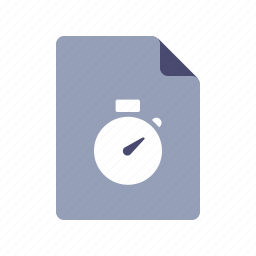 file, history, schedule, time icon
