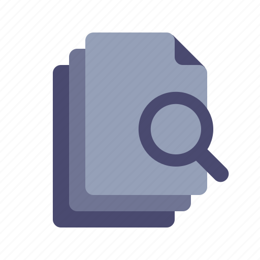 analize, documents, files, search icon