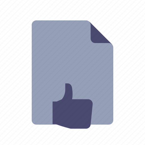 feedback, positive, review, thumbup icon