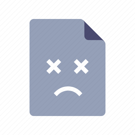 bad, file, missing, page icon
